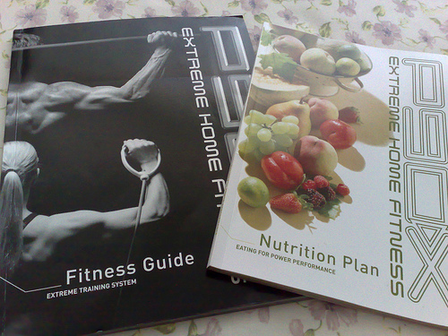 P90x Fitness Guide, Nutrition Plan