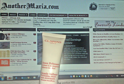 Clarins Gentle Refiner Exfoliating Cream