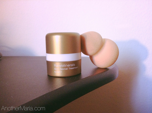 Rare Minerals Night Skin Revival Treatment Review