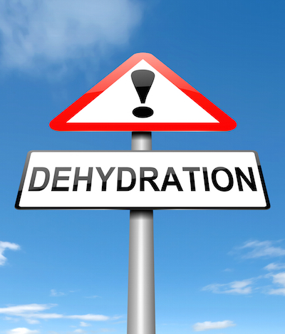 how to get better from dehydration