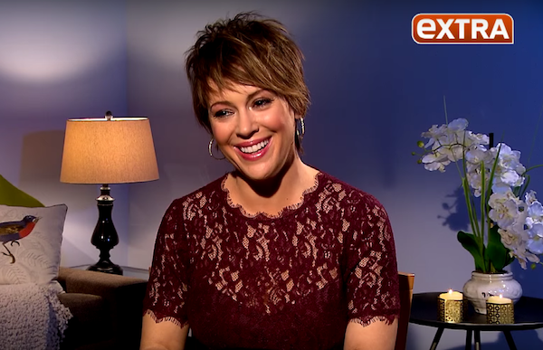 Alyssa Milano On Losing Her Baby Weight, Breastfeeding & A Who's The ...